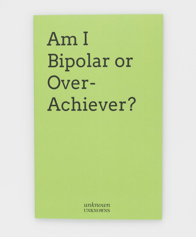 Image of Am I Bipolar or Overachiever?