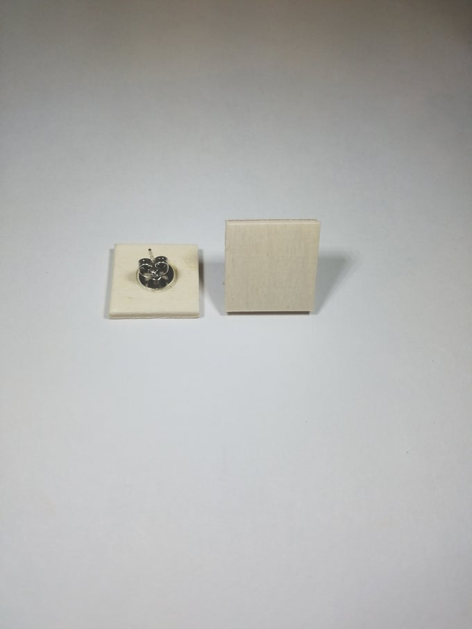 Image of Large Square Studs