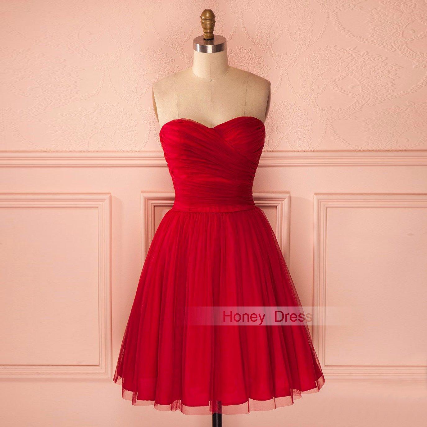 Sweetheart Short Cocktail Dresses