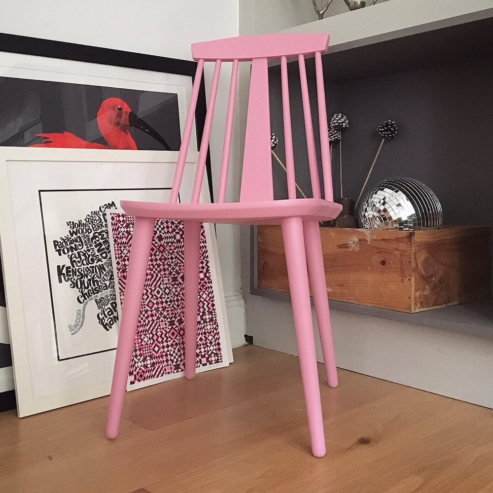 Image of Mint in Pink - Reloved Side Chair