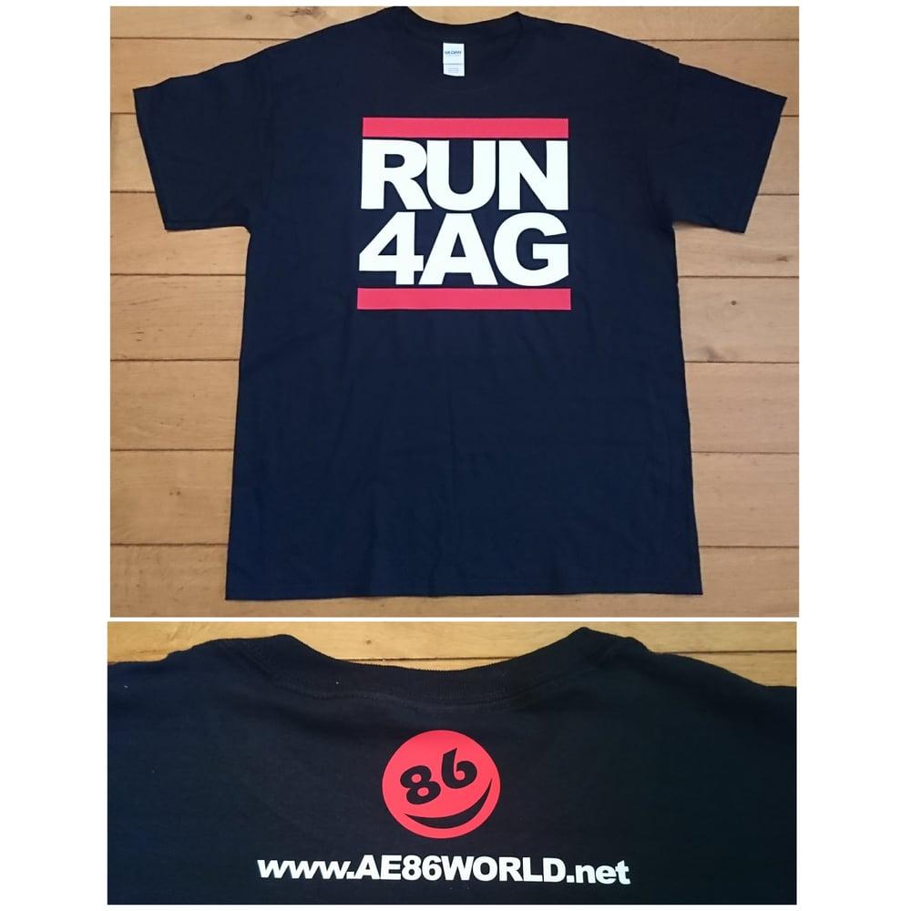 Image of *NEW* RUN 4AG AE86 WORLD T-Shirt