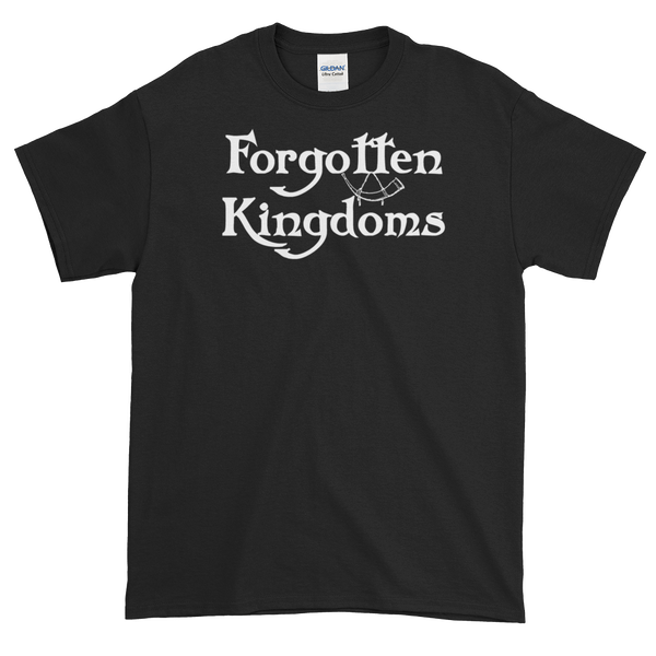 Image of Forgotten Kingdoms logo shirt