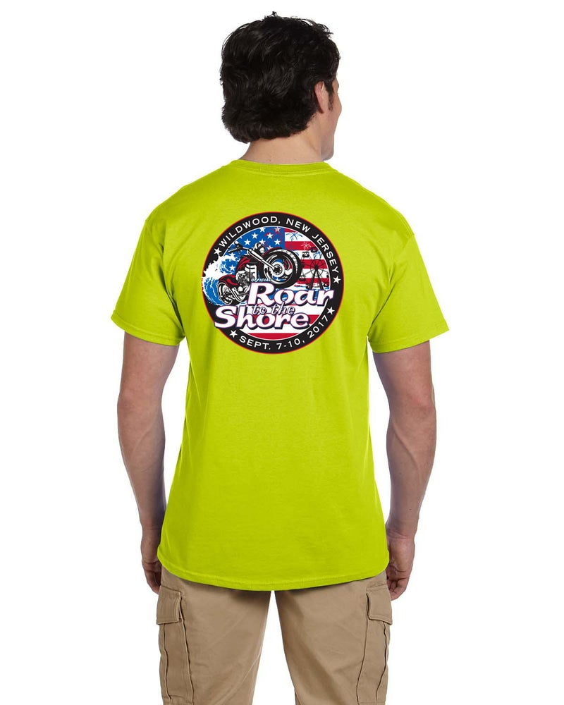 Image of 2017 Men's Safety Green T-Shirt