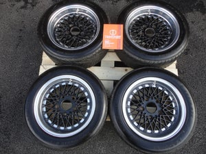 "Image of Genuine SSR (Speed Star Racing) Formula Mesh Reverse 15"" 5x130 3-Piece Split Rim Alloy Wheels"
