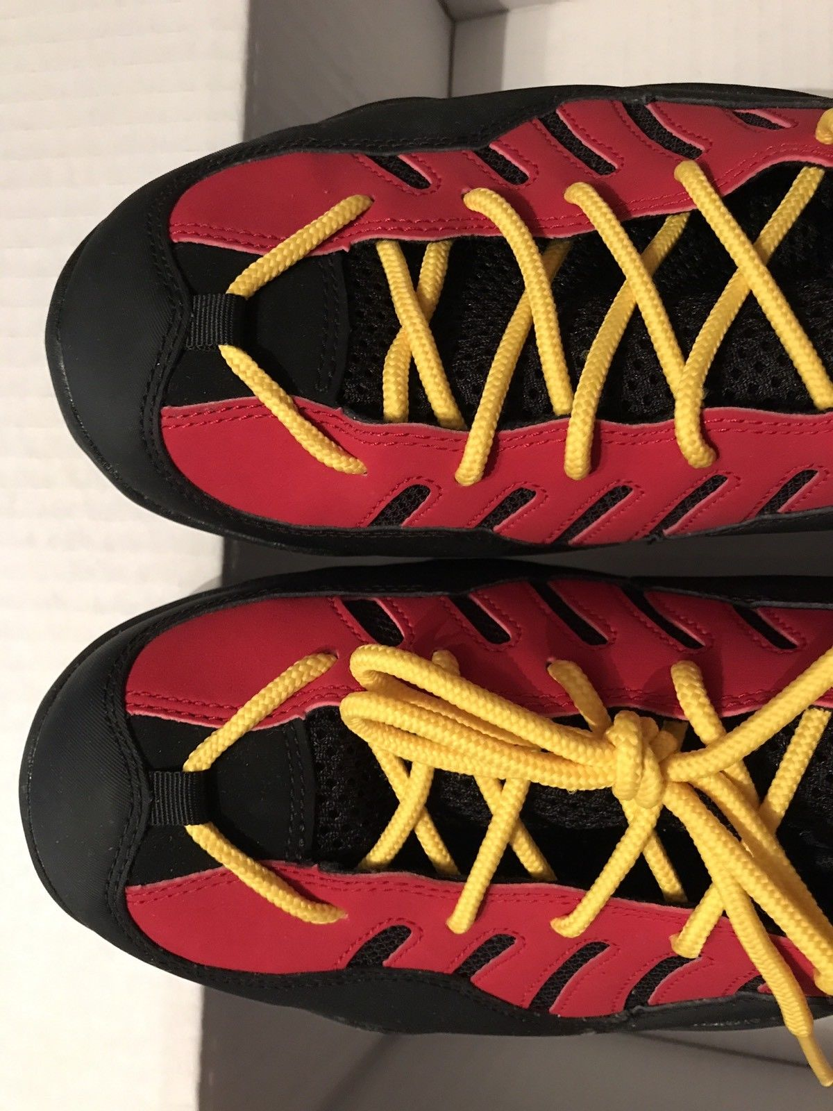 Image of NIKE AIR BAKIN - Size 13 - Color: Black/Red New DS-Rare New