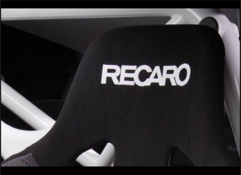 Image of 2x RECARO Flock seat logos, Easy iron-on