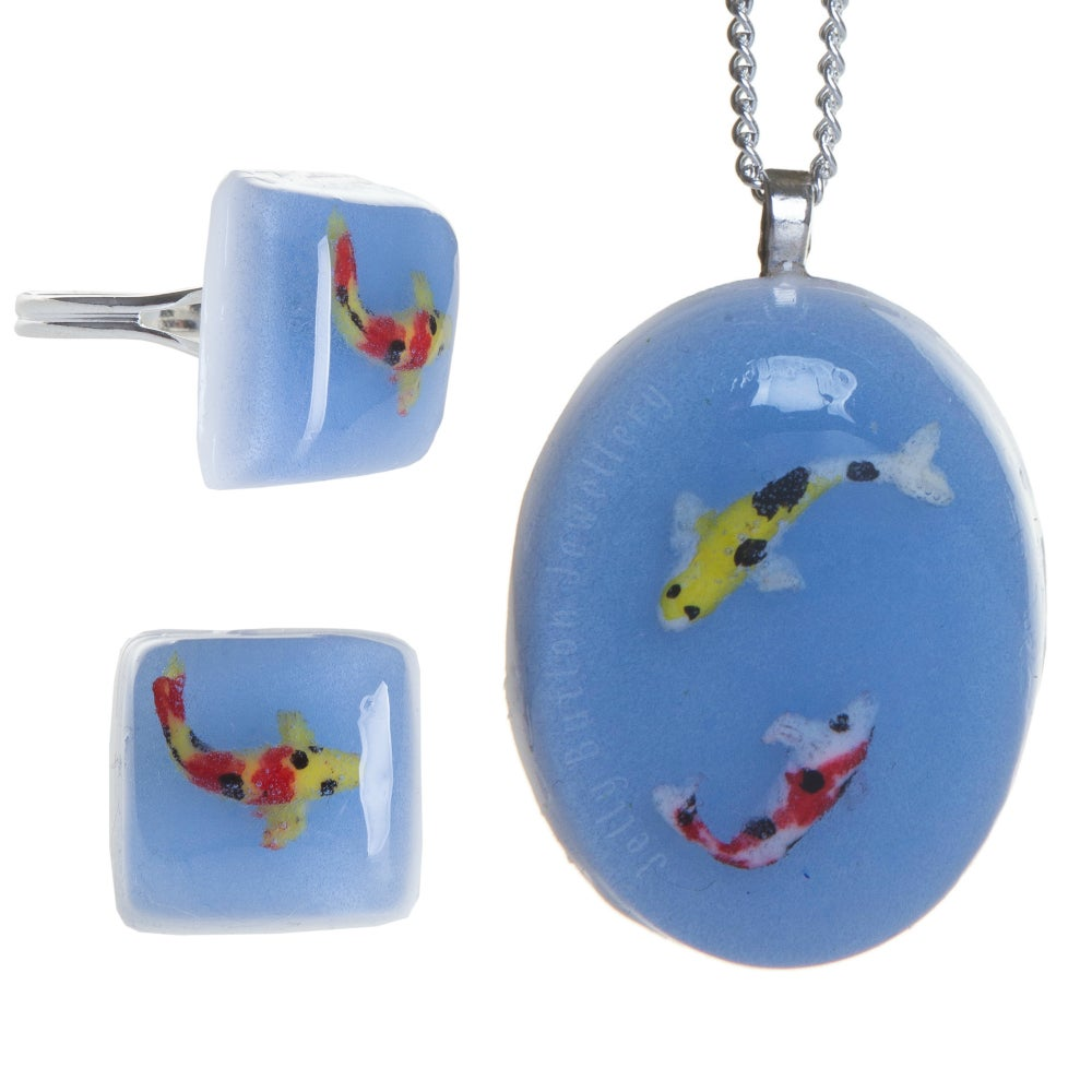 Image of Koi Carp Necklace / Ring