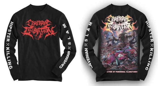 Image of CEREBRAL INCUBATION - Bifurcation Of Promordial Slamateurs Hoodie