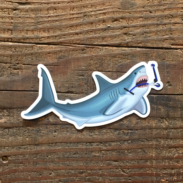 Image of Apex Predator Shark Sticker