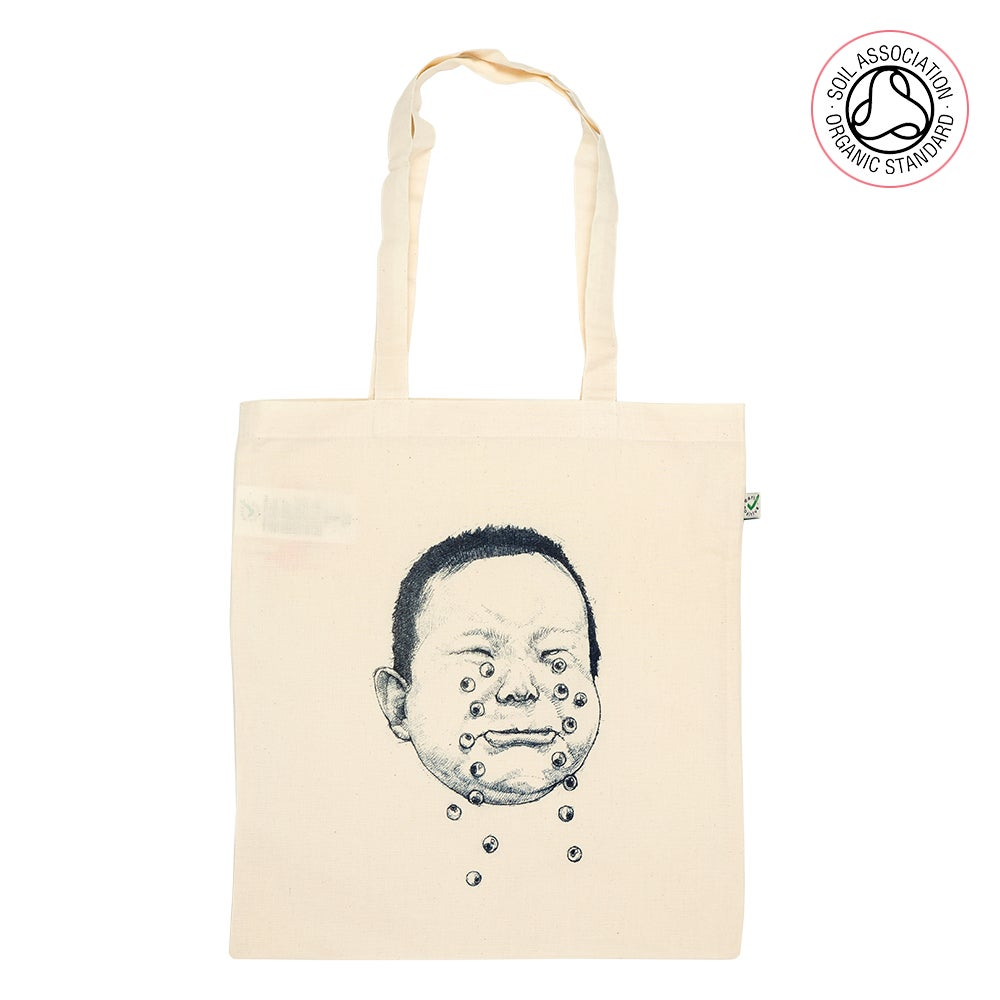 Cry Hard Tote Shopping Bag (organic)