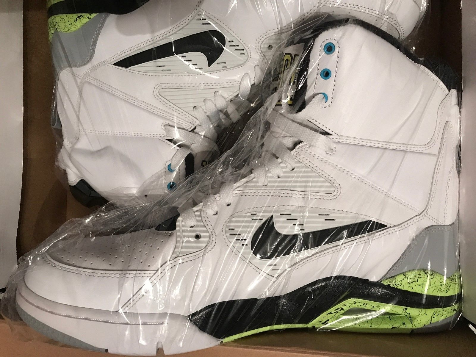 Image of Nike-Air-Command-FORCE-Billy-Hoyle-White-684715-100-Size-12-5-MINT-Worn-Once