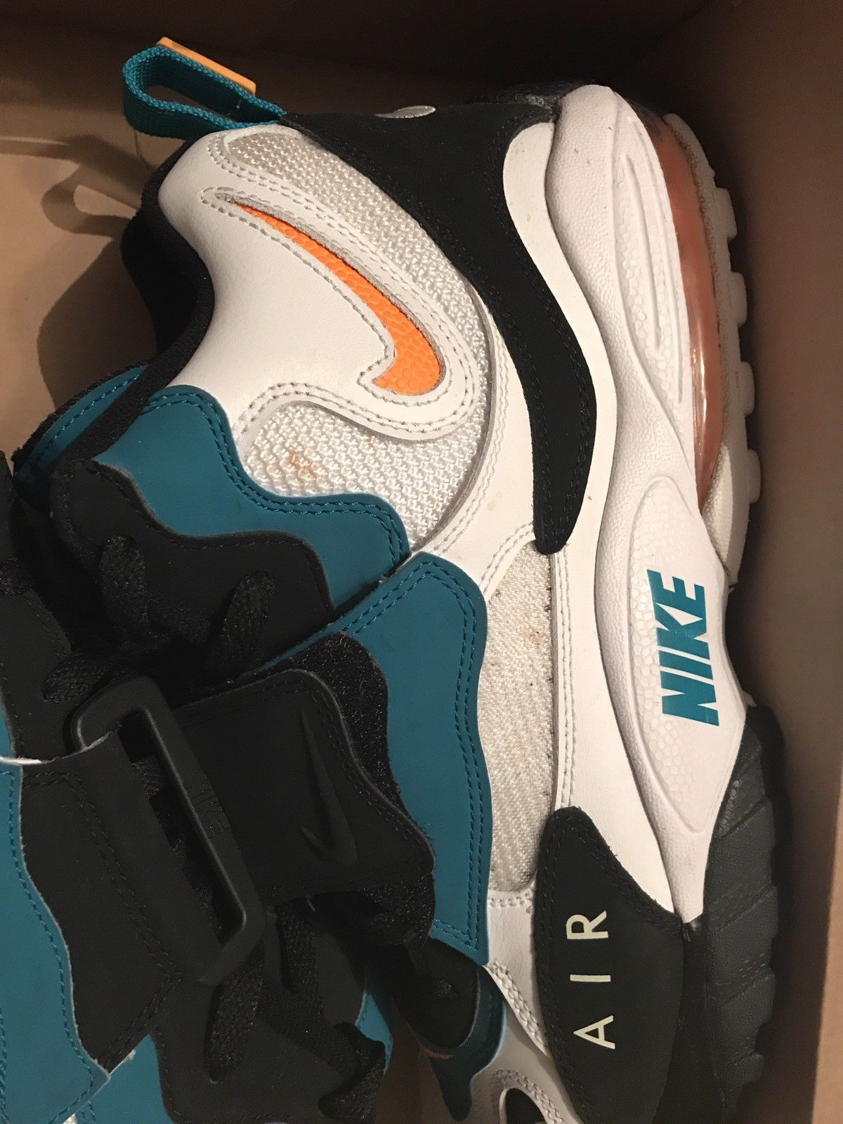 Image of nike max speed turf dan marino - Size 13 - Used