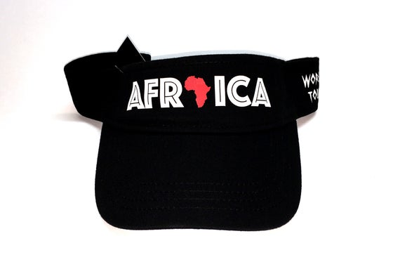 "Image of World Tour ""Africa""  Visor Black"