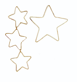 Image of Asymmetric Starlight Studs