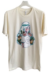 Image of AQUARIUM GIRL t-shirt by meyoco
