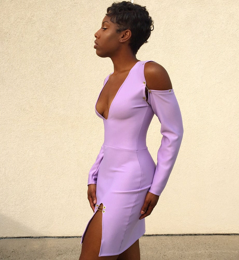 Image of 'Laylah' Dress - Lilac