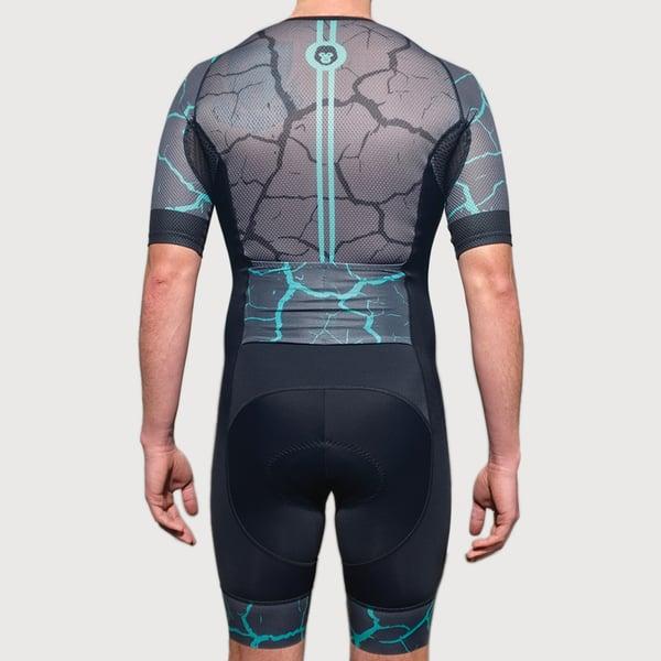 Men's Electra Half Sleeve Trisuit - mekong