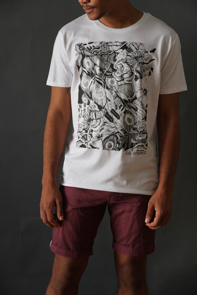 Image of Camiseta Hombre Flores