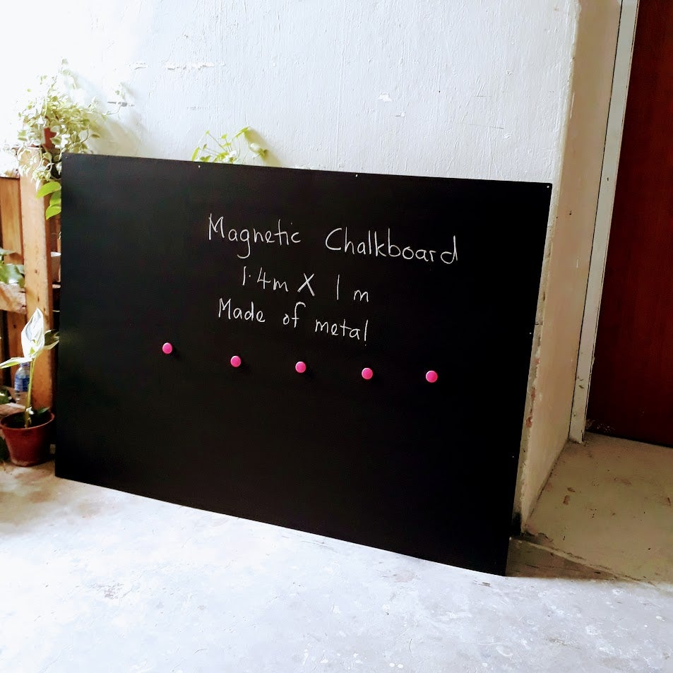 Large Magnetic Chalkboard
