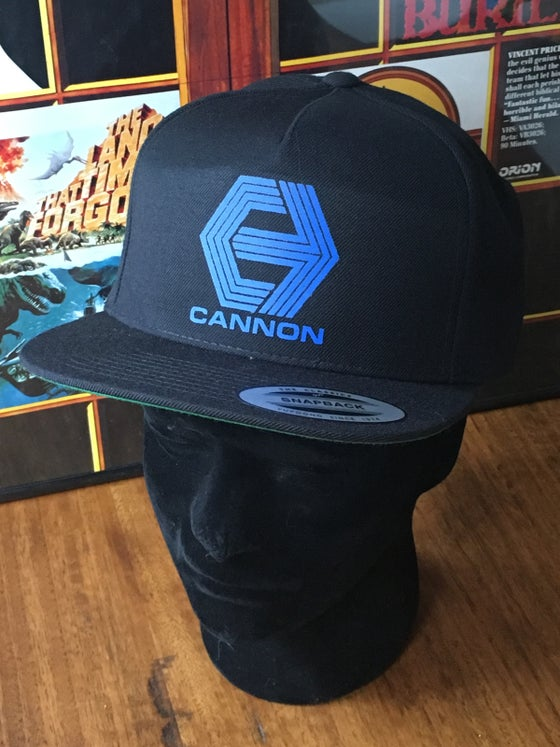 Image of Cannon Hat unstructured SnapBack and Trucker Mesh