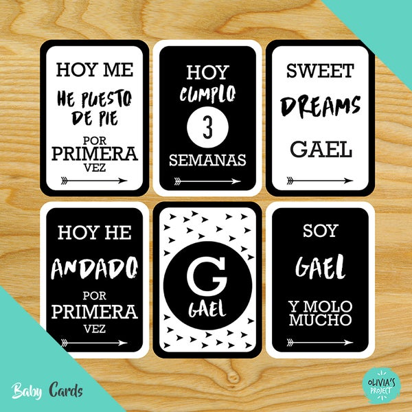 Image of Baby Cards Modelo Gael