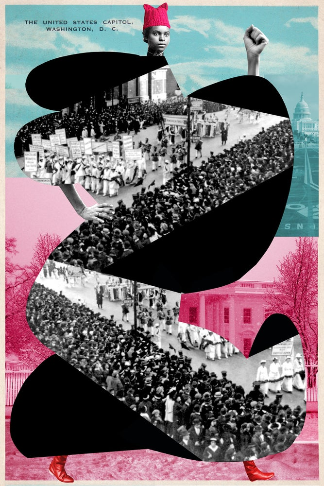 Image of Plate No. 155, The Women's March on Washington 2017