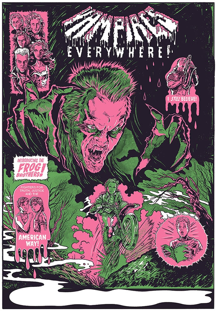 Image of Vampires Everywhere! Silkscreen Print