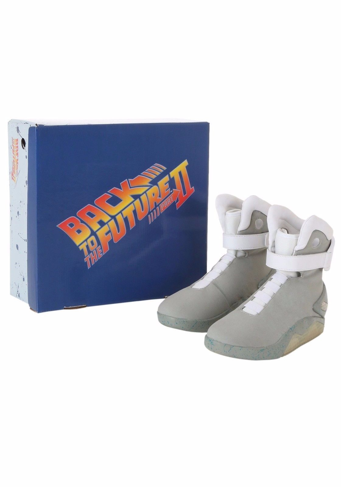 Image of Back to the Future 2 Light Up Shoes - Size 13 - New