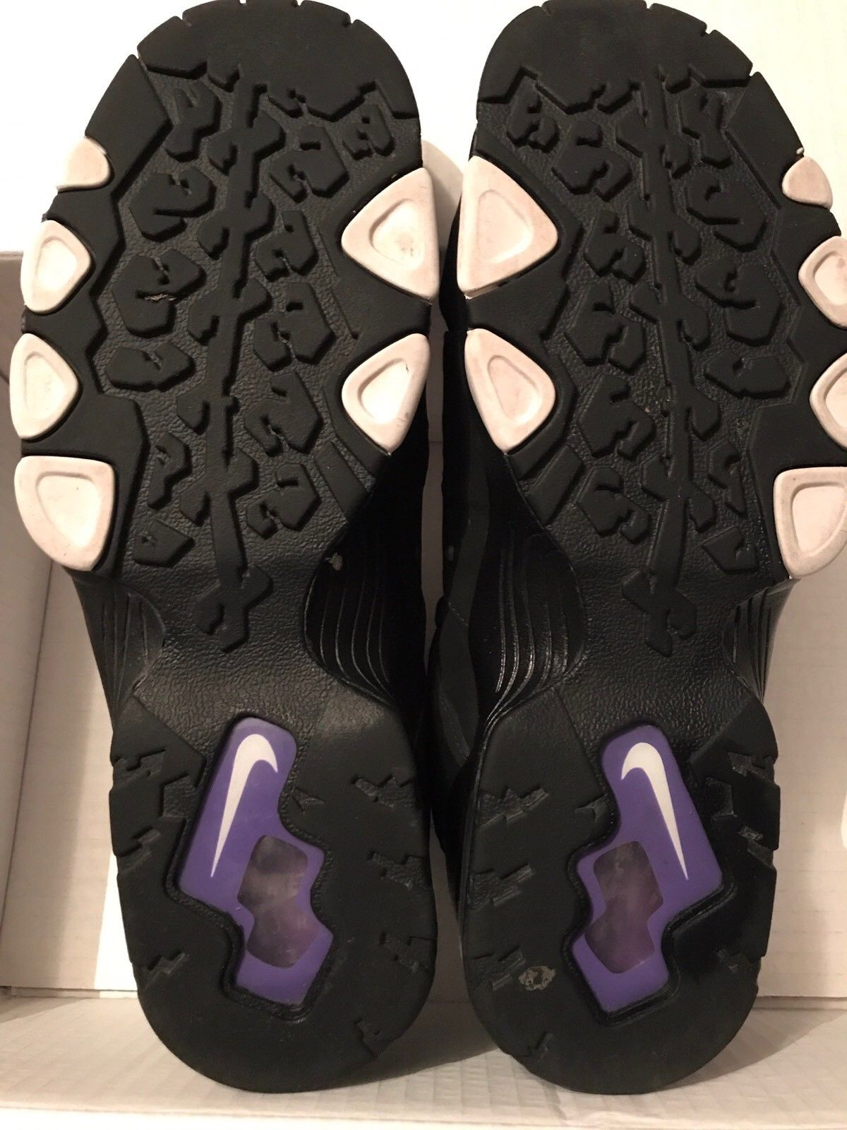 Image of Nike Air Max2 CB 94 Charles Barkley Black Purple - Size 13 - Used