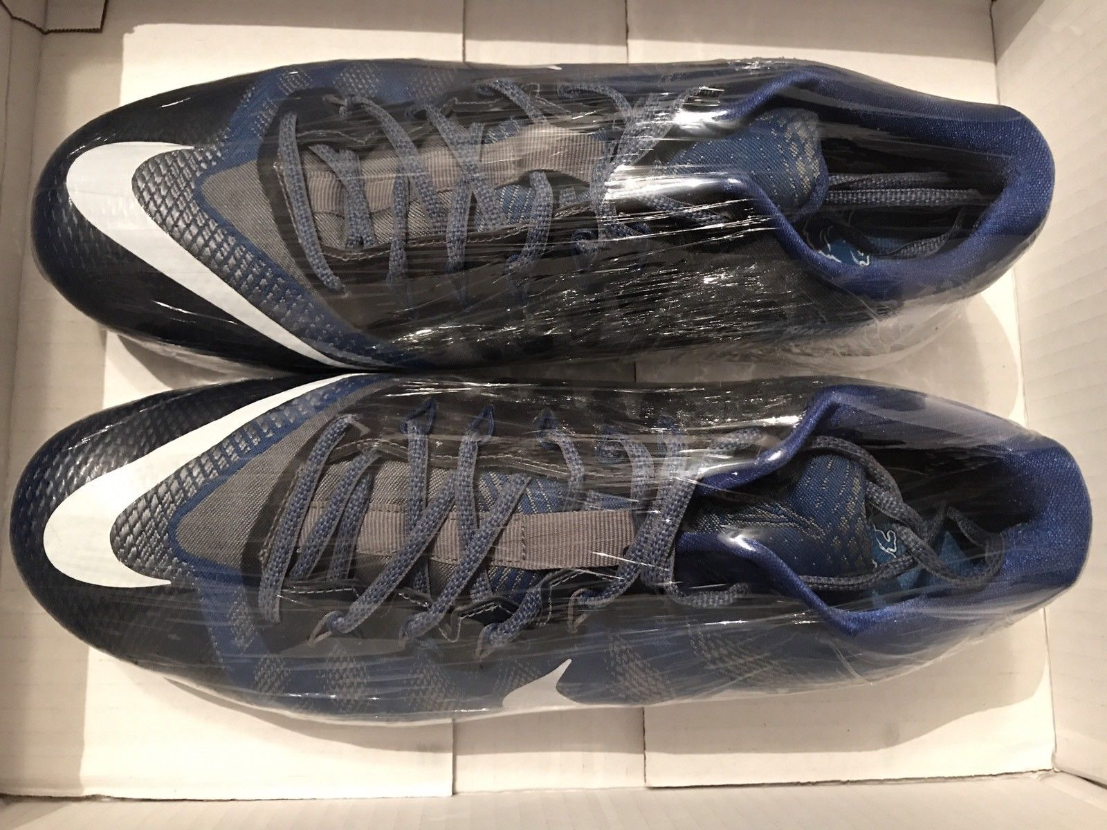 7116603cb3dab Image of Nike CJ3 Calvin Johnson  81 Lions Flyweave Trainer Men s Size 13  Used Once