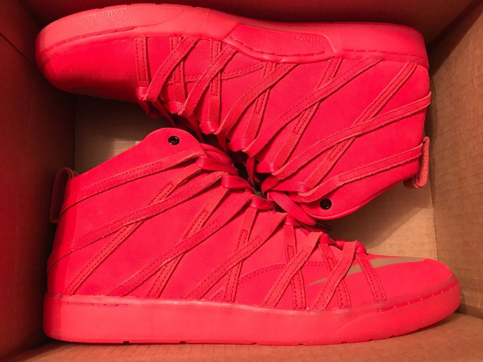 9966bf1532d Image of Nike KD VII 7 lifestyle nsw qs size 13 red suede shoes sneakers  Kevin