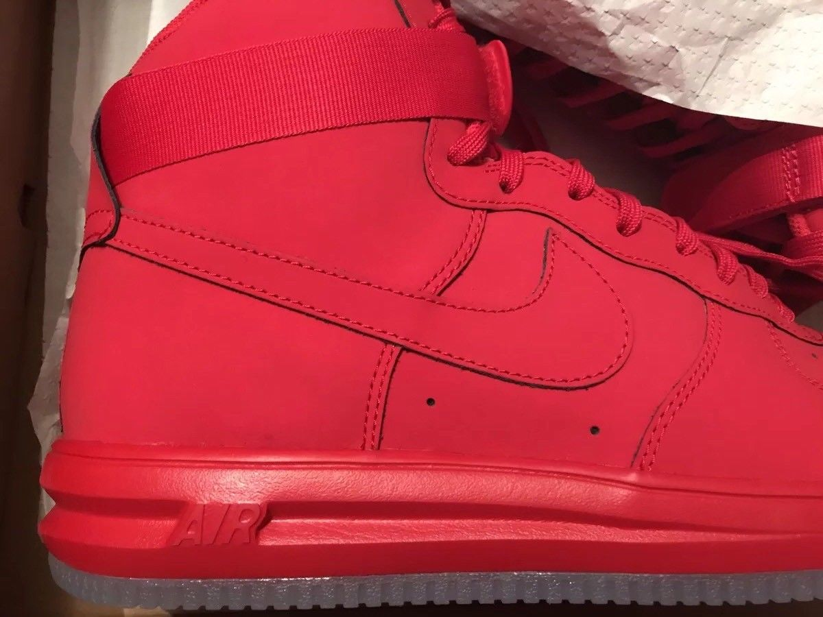 Image of Lunar force 1 University Red Size 13 Deadstock - Rare - Exclusive! New!