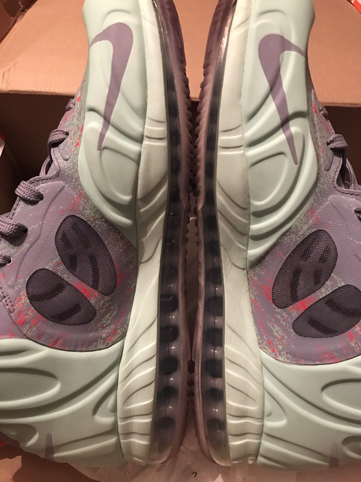 Image of Nike Air Max Hyperposite Rondo Foamposite Eggplant Royal - Size 13 - Used Once