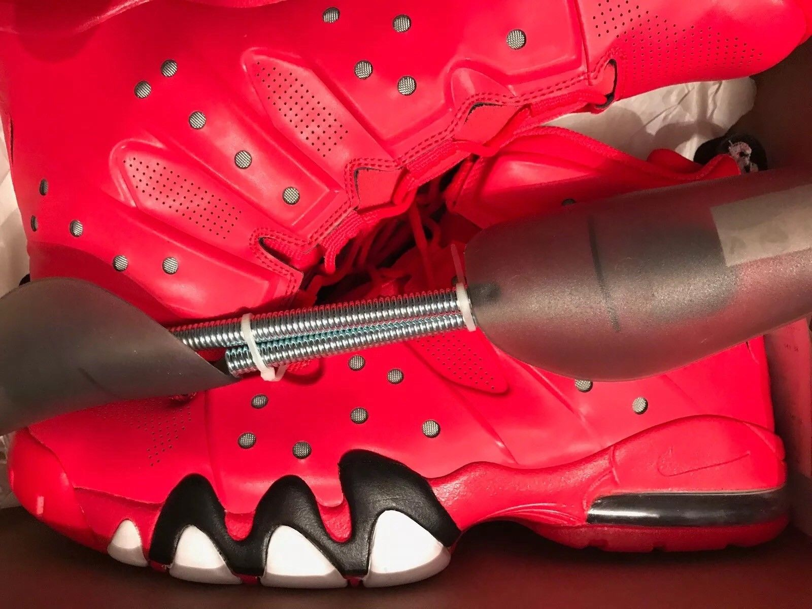 Image of Nike Air Max Barkley - Hyperfuse - Size 13 - Red - DS - Used