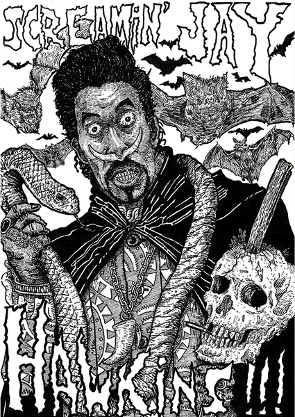 "Image of ""Screamin' Jay Hawkins"" Art Print"