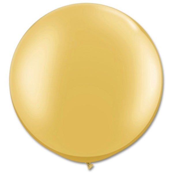 Image of Giant Round Balloons - Metallic Gold