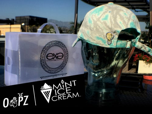 Image of EXPRESSION 06 EVOLUTION - OOPZ Thinking Cap - Mint Ice Cream