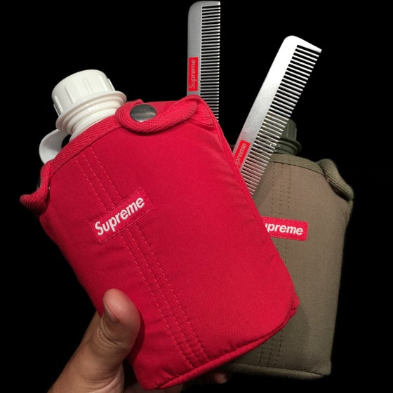 Image of 2012 Canteen & Metal Comb