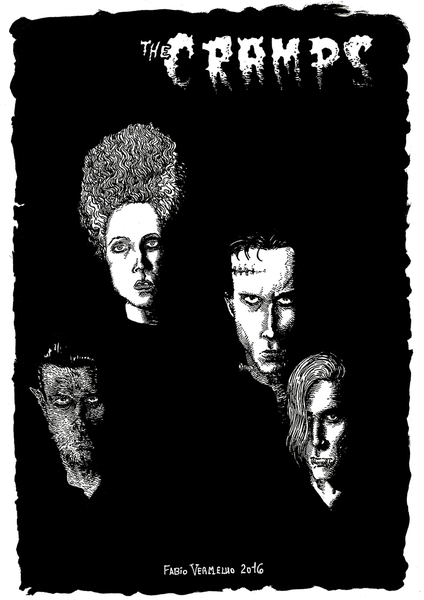 "Image of ""Universal Cramps Monsters"" Art Print"
