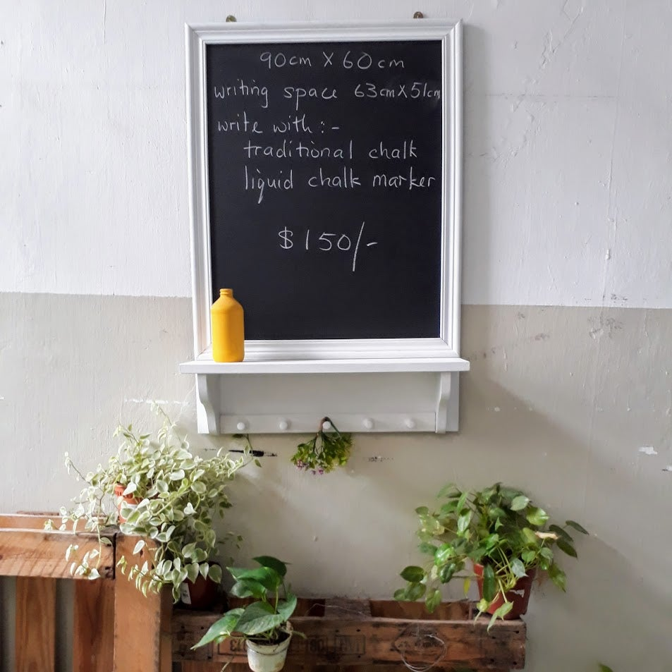 Image of Country Chalkboard (white)