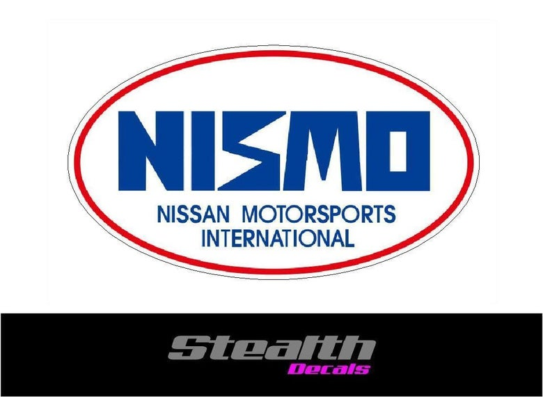 Image of 2x Nismo Motorsport stickers/ decals