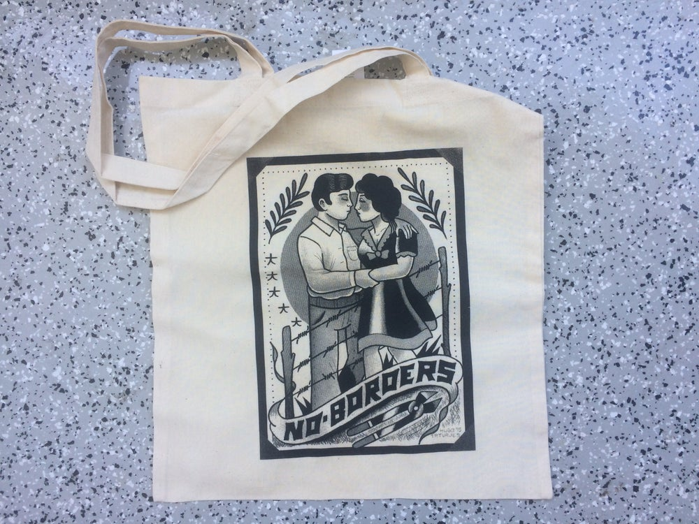 Image of No Borders Tote Bag