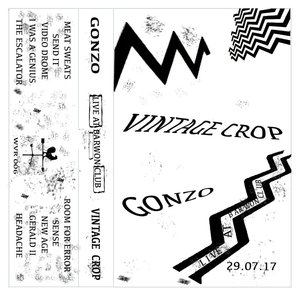 Image of Vintage Crop & Gonzo Live - Split Tape