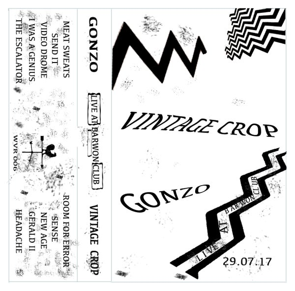 Image of Vintage Crop & Gonzo Live - Split Tape
