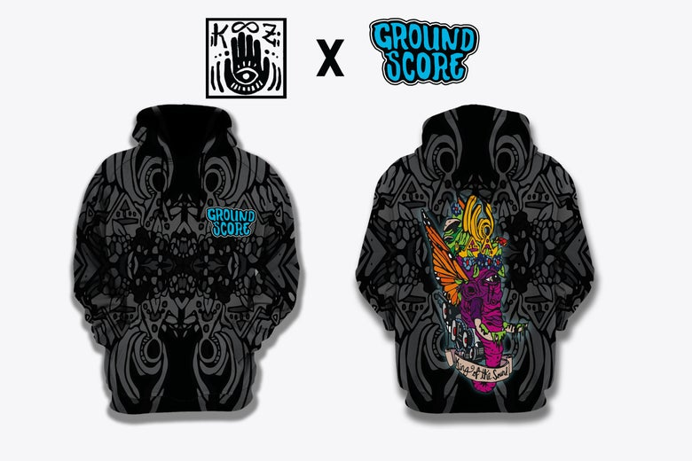 Image of KOOZ - King of the Sound Sublimated Pullover (LE 75)