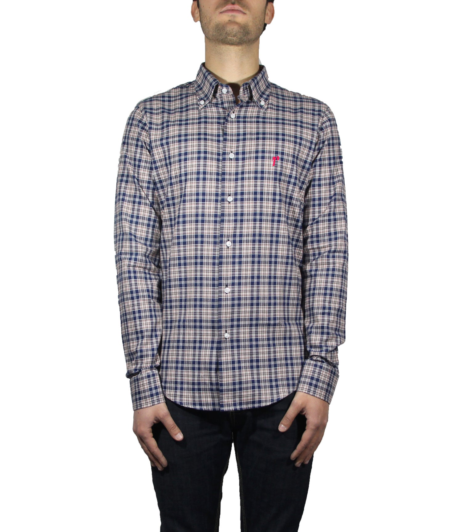 Image of CHECK COTTON SHIRT R69