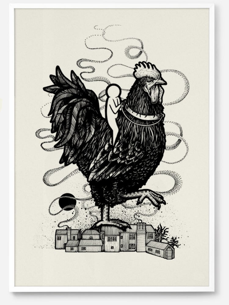Image of The Black Hen of Chiddingly by Will Blood
