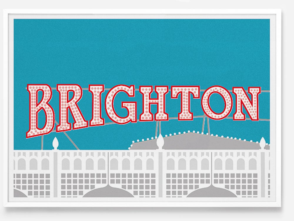 Image of Brighton Pier by Lewie Evans