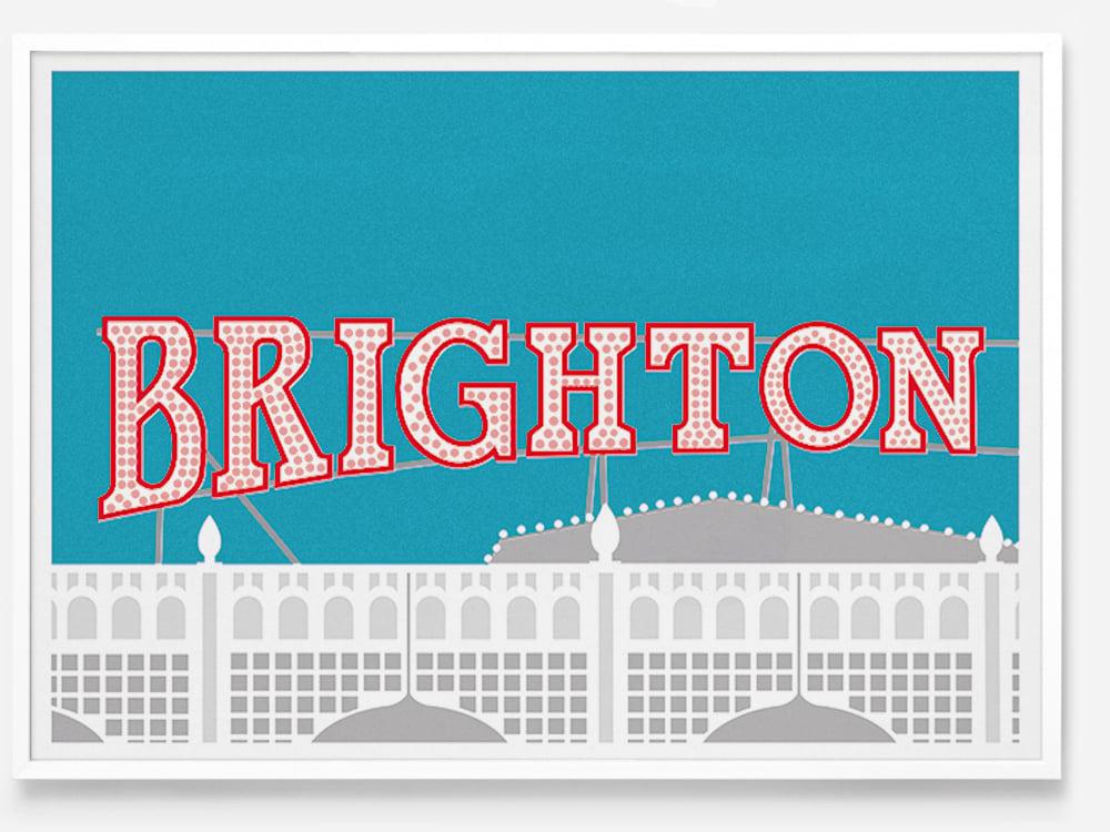 Image of Brighton Pier by Lewie Evans