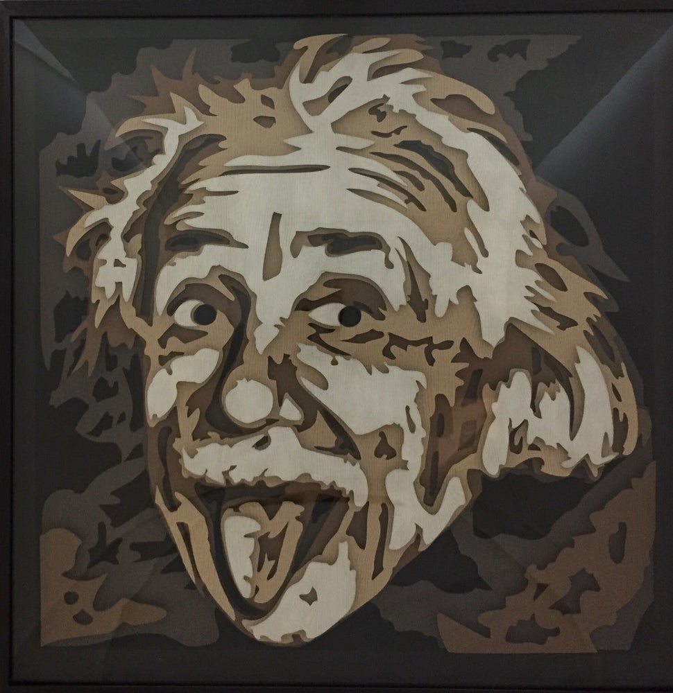 Image of Einstein - 5 Layers